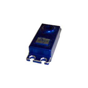 blue billet aluminum servo cap