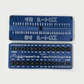 blue gear rack